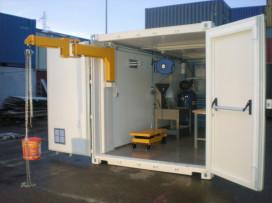 Intégration container atelier