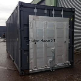 Container hayon Capacité 5Tonnes