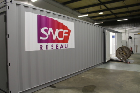 Intégration container atelier SNCF